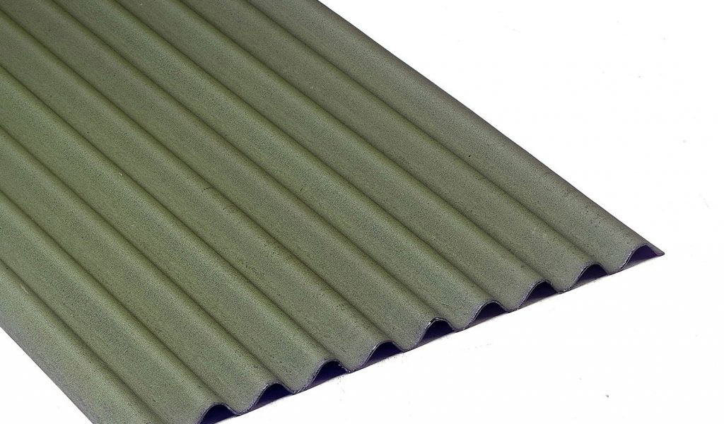 bac acier 2m vert