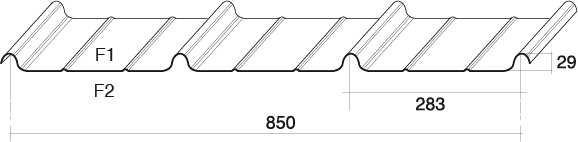 bac acier 850