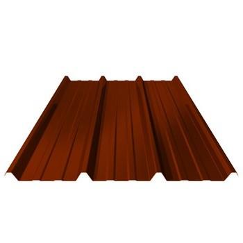 bac acier brun