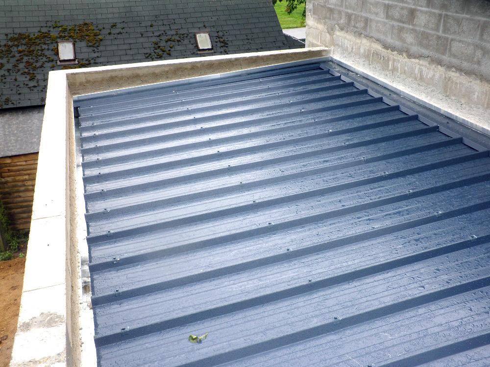 bac acier galvanise toiture