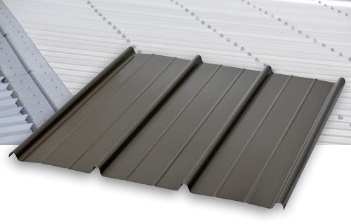 bac acier gris fonce