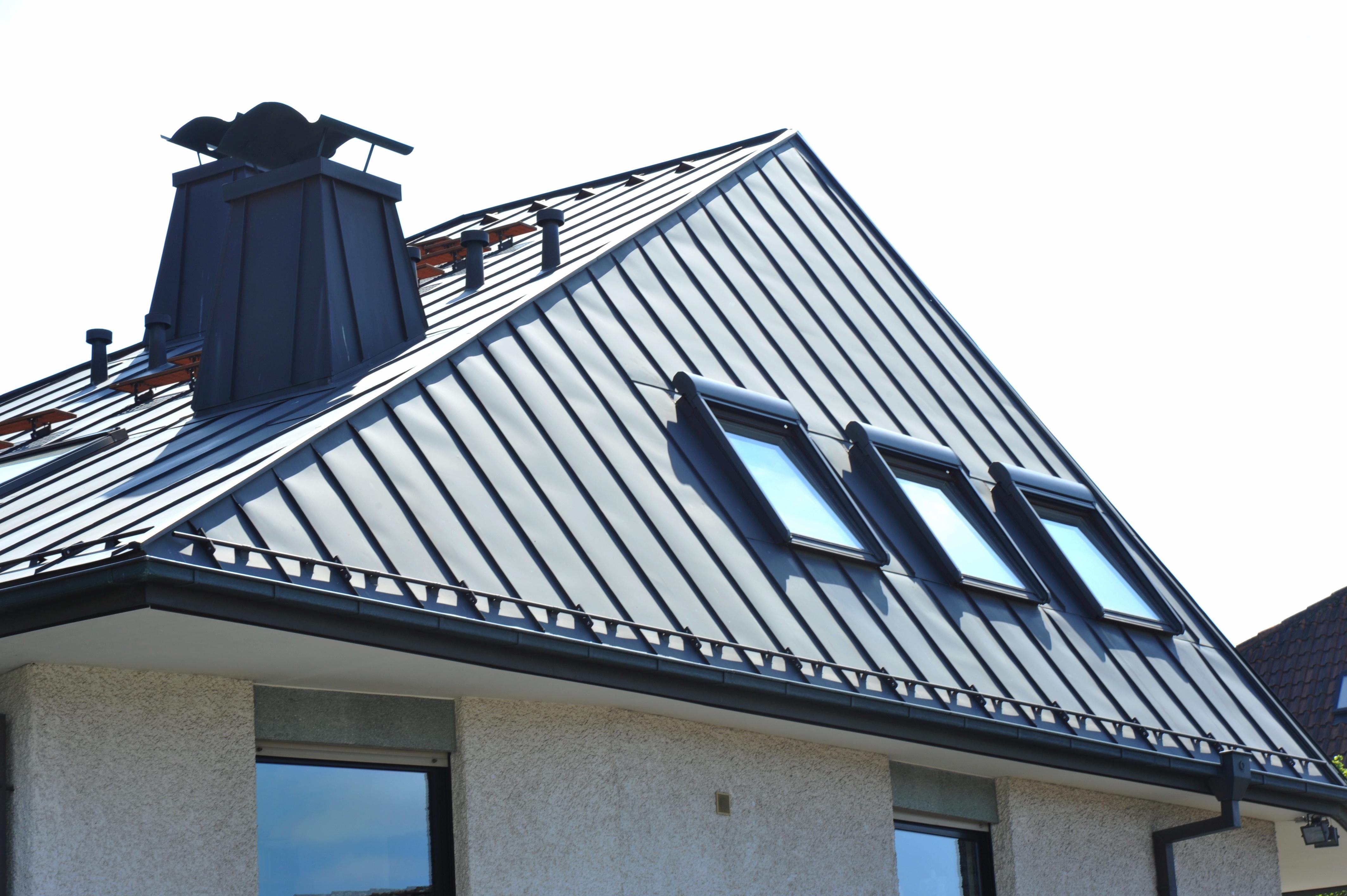 Bac acier isole anti condensation for Differente toiture maison