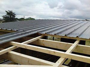 bac acier isole toiture