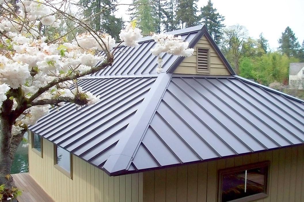 Bac acier ou zinc for Construction bois zinc