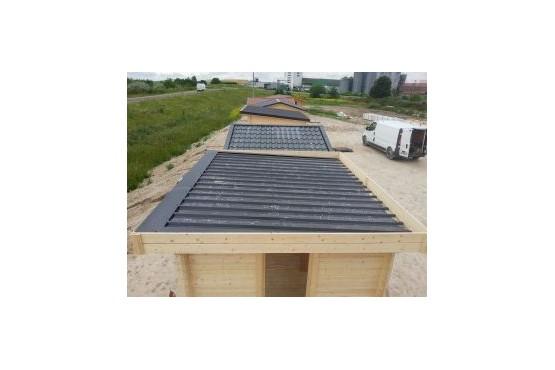Realiser toiture plate bac acier