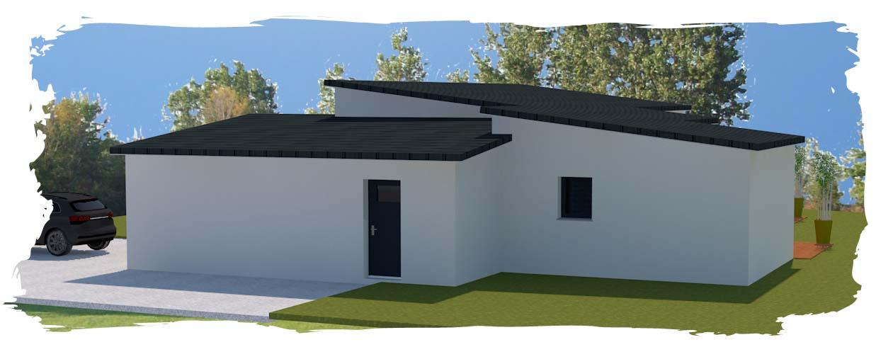 bac acier toiture maison