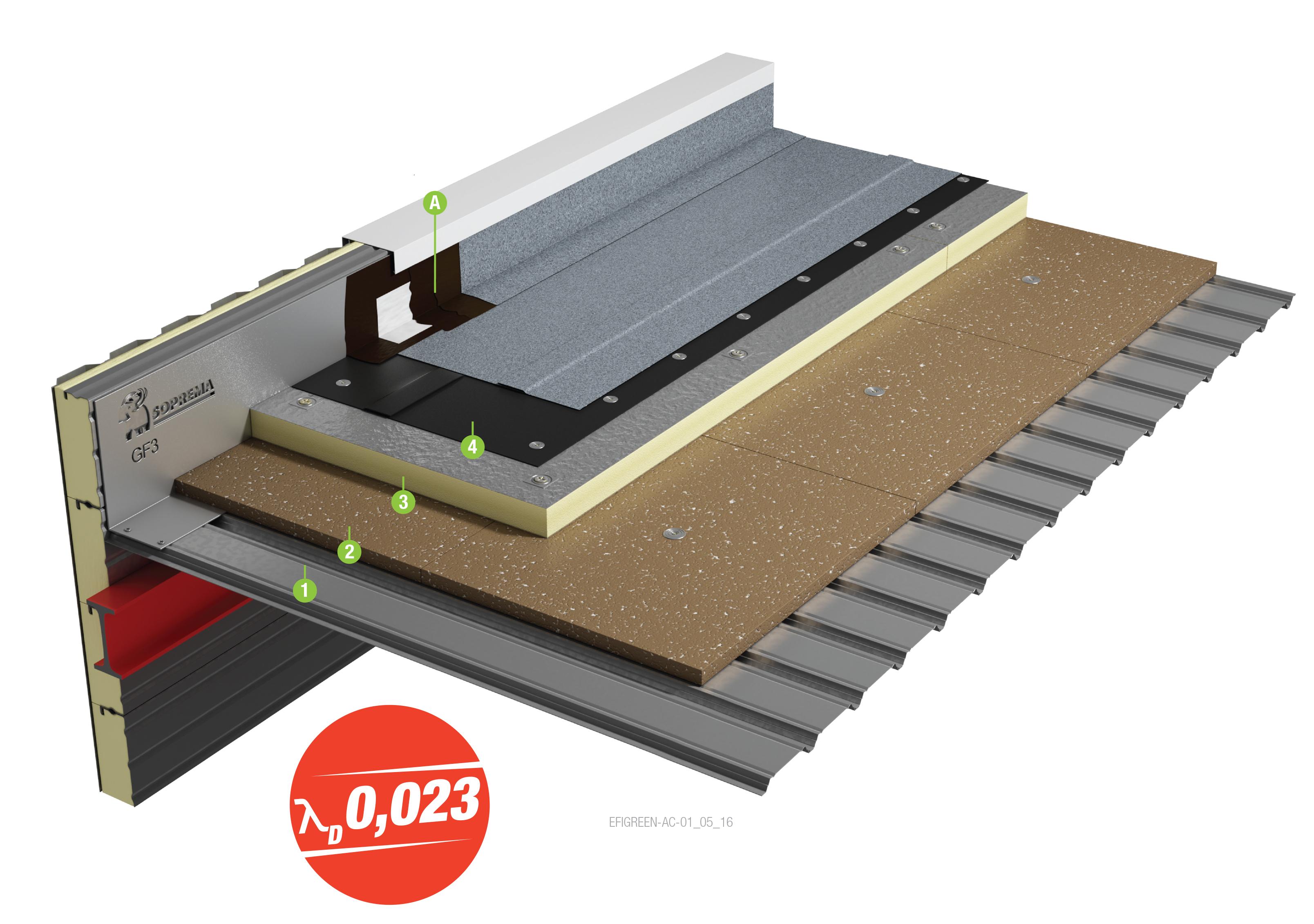 bac acier toiture terrasse. Black Bedroom Furniture Sets. Home Design Ideas