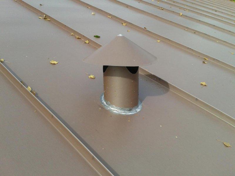 bac acier ventilation