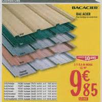 Tole Bac Acier Chez Brico Depot