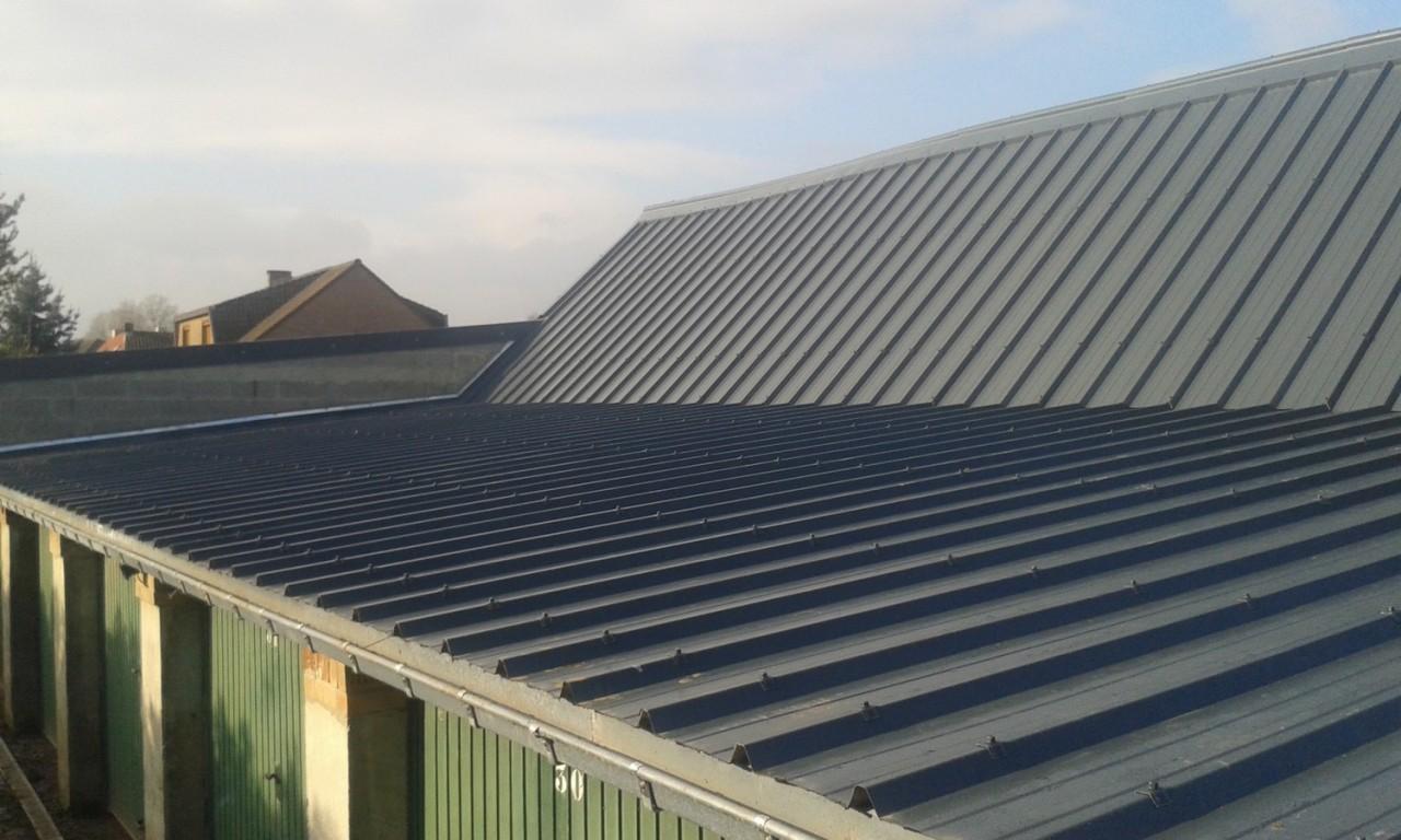 Comment faire un toit en tole bac acier
