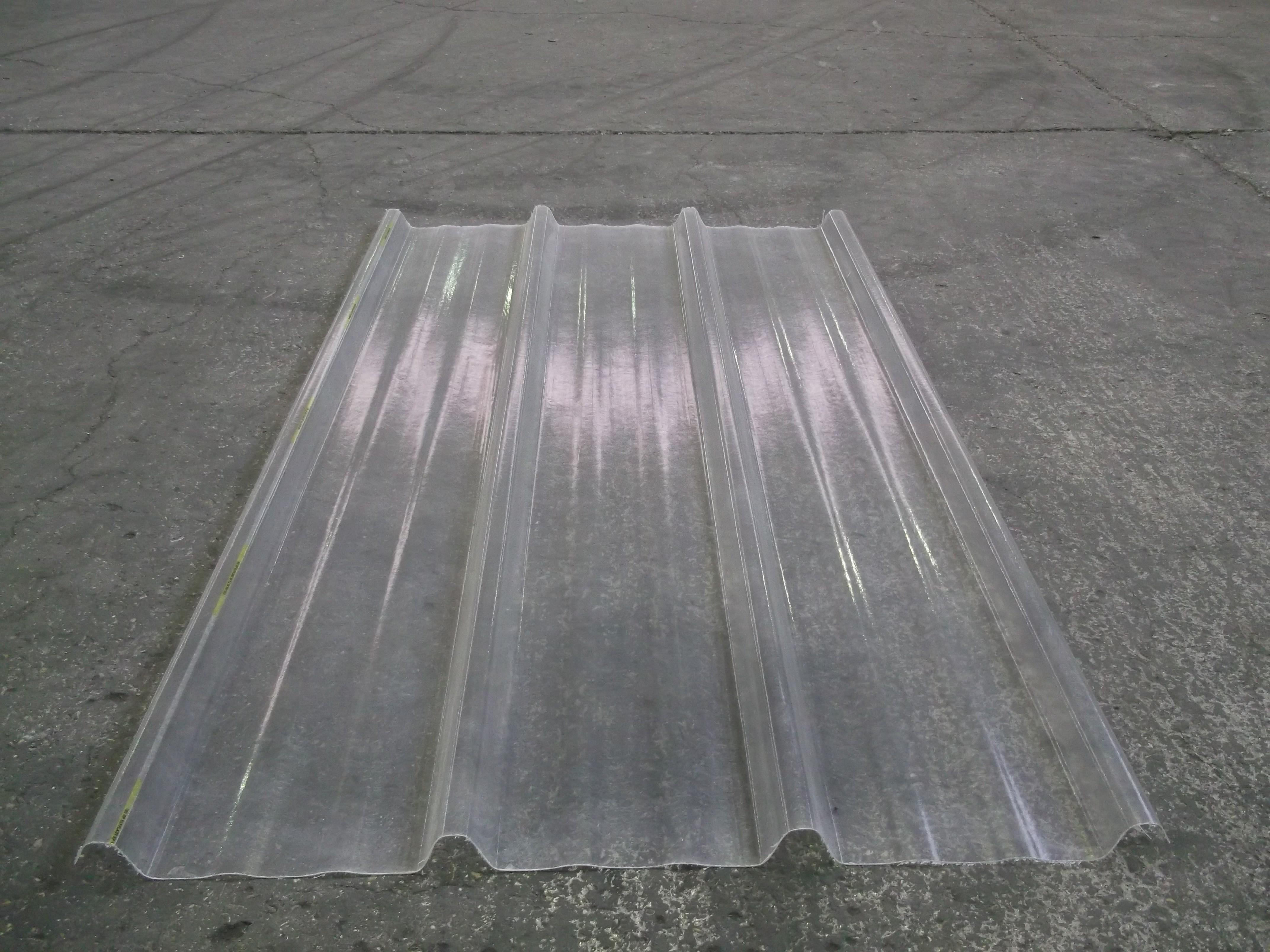 tole bac acier transparente