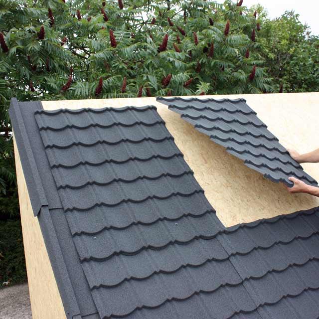 tole toiture abris de jardin