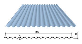 tole toiture aluminium