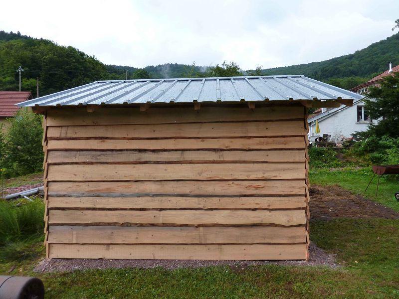 Tole toiture cabanon - Abri de jardin tole ...