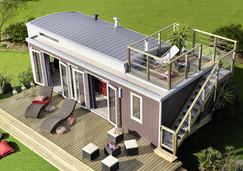 tole toiture mobil home