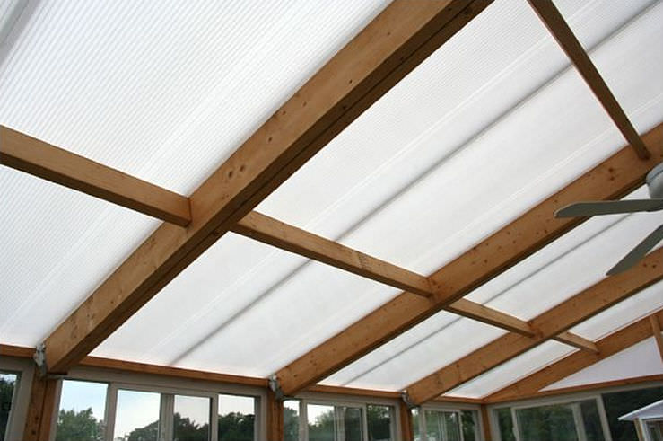 tole toiture transparente