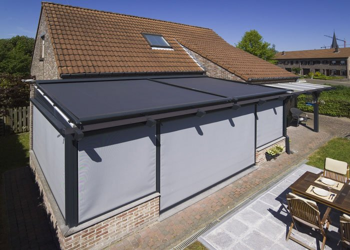 tole toiture veranda